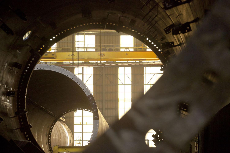 ALSTOM General electric Milestones Wind offshore industrial  windpowwer GE